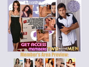 Two and a Half Men Porn Site XXX