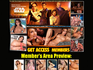 Star Wars Nude XXX