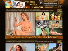 Vintage Ladies Glamour