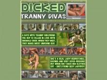 Dicked Tranny Divas