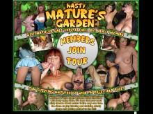 Nasty Mature`s Garden