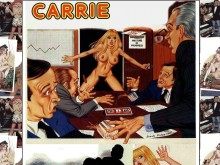Carrie Comics Strips