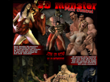 3D Monster Porn Control