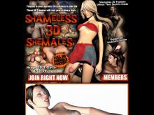 Shameless 3D Shemales