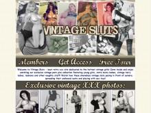 Vintage Sluts