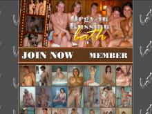Orgy in Russian bath