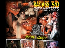 Badass 3D Porn Monsters