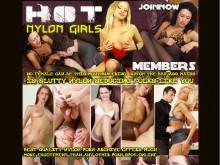 Hot Nylon Girls