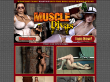 Erotic 3D Muscle Divas