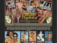 Vintage Nudists - photos from the 1900s to 1950s